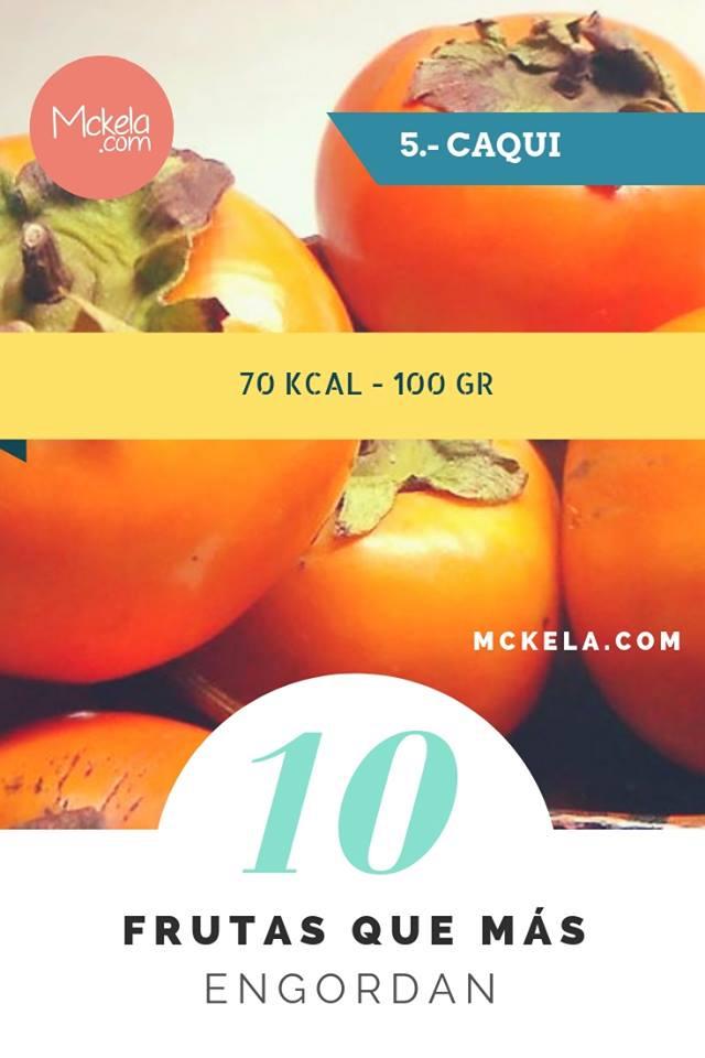 10 frutas que mas engordan