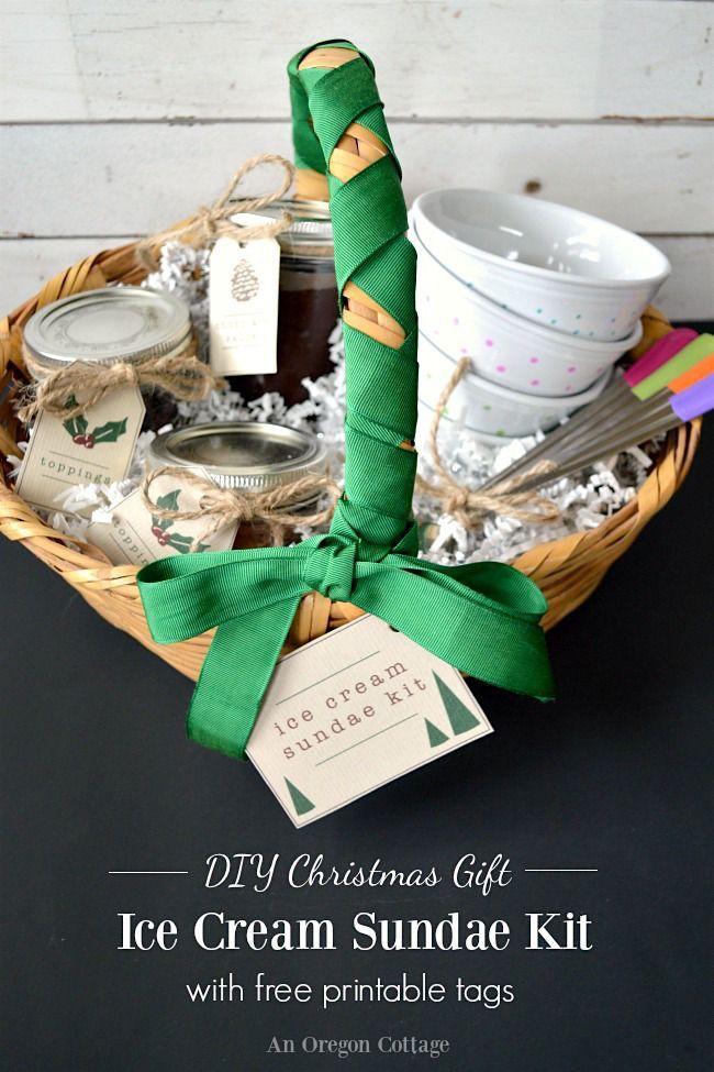 Diy ice cream sundae kit gift free printable tags diy ice diy ice cream sundae kit gift free printable tags negle Gallery