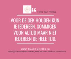 Waarmee Hou Jij Jezelf Voor De Gek Video Bianca Meijsen