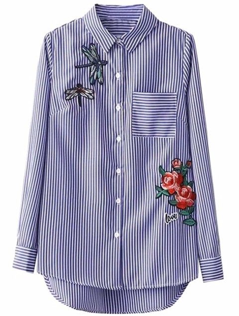 10e16b218fb5 Camisa Anne | Blouses en 2019 | Shirt embroidery, Shirts y Shirt ...