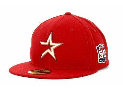 Houston Astros New Era 50th Anniversary Patch Ac Hats 32 Astros Hat Houston Astros Astros