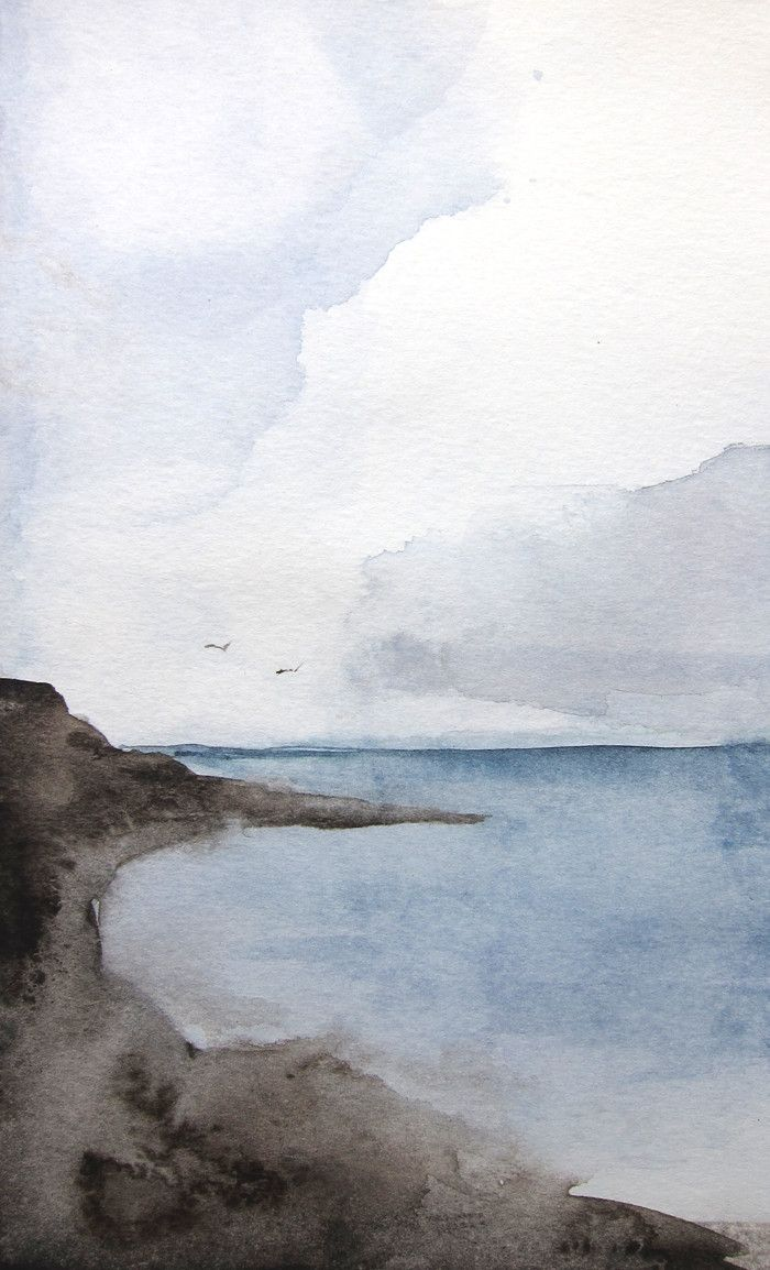 Epingle Par Emilie Lacroix Sur La Mer Peinture Paysage Paysage