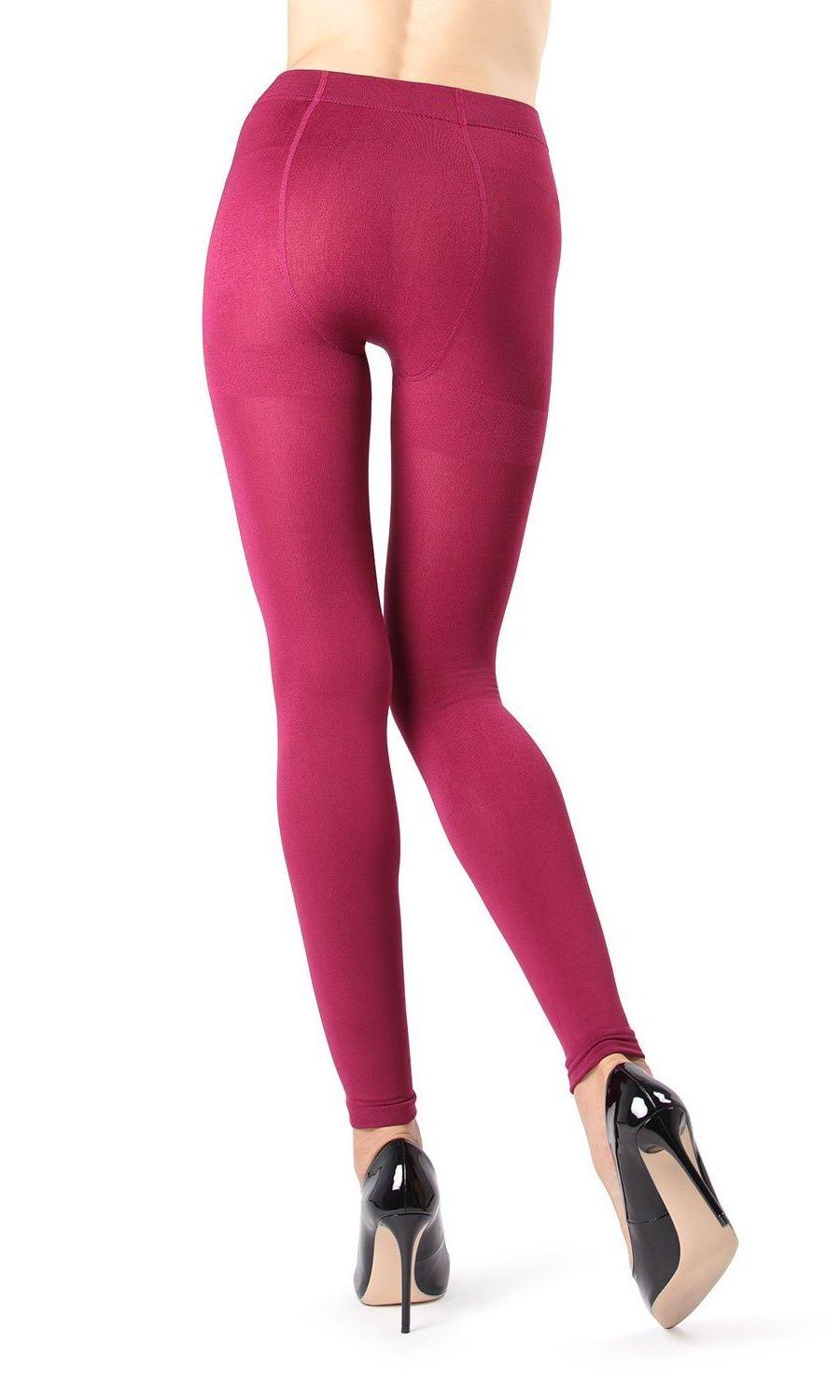 22b59b0c2ab5e Memoi Winter Fleece Footless Tights Women's Hosiery - Pantyhose  Medium/Large / Berry MO 346#Footless, #Tights, #Women