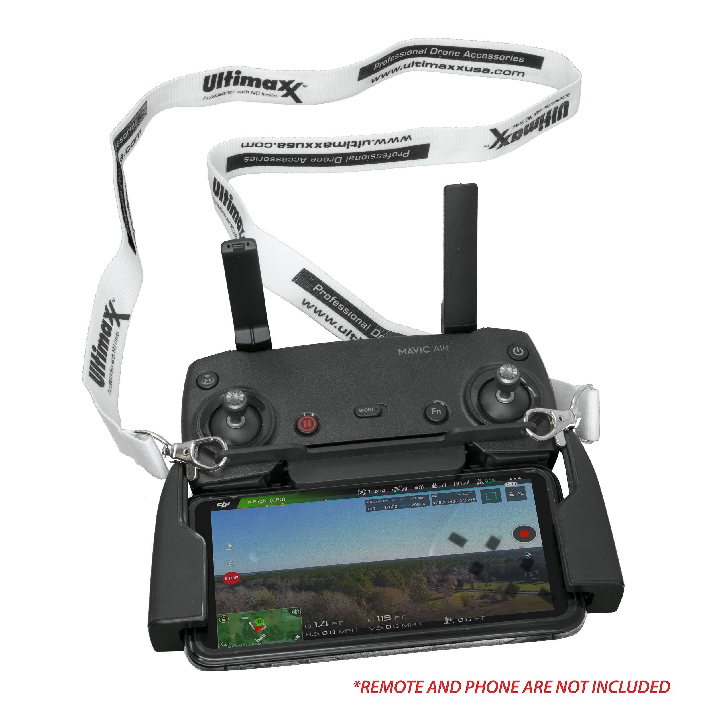 Ultimaxx Buckle Strap Lanyard and Remote Control Bracket