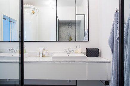 Industriële klassieke chique badkamer badkamer