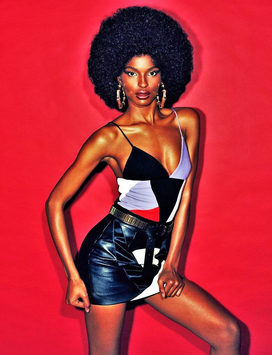 Caribbean Model Archives Sola Rey Most Beautiful Black Women Black Girl Long Hair Black Women