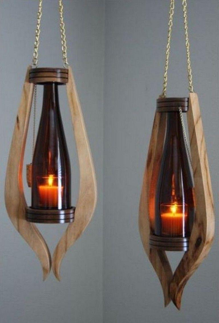 17 Smart Diy Wine Bottle Lamp Design Ideas You Must Try Wooden Lamps Design Wood Lamps Wine Bottle Lamp