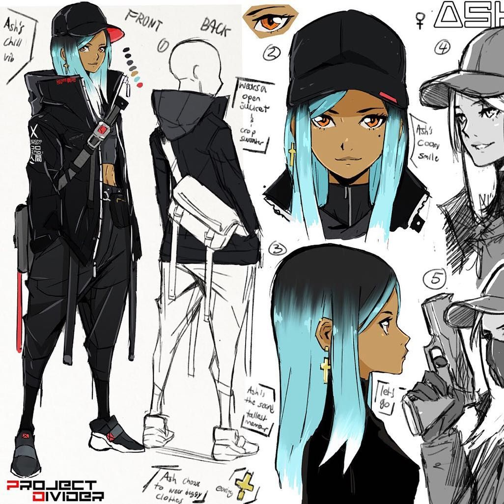 A New Work In Progress Character Concept Sheet I Ve Wanted To Make This Character For So Anime Character Design Concept Art Characters Female Character Design