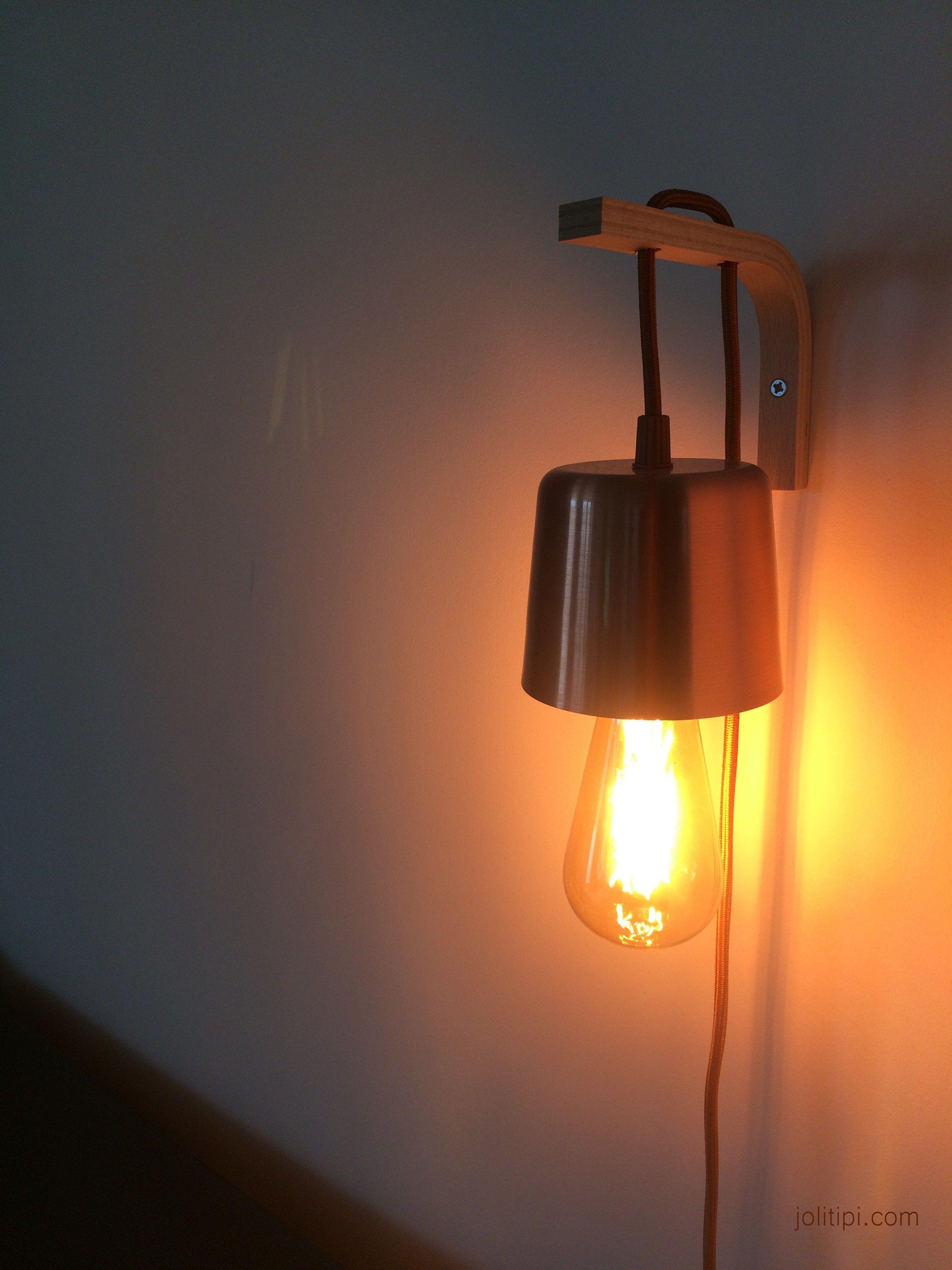 Transformer Une Suspension Lumineuse En Baladeuse Murale Mon Ikea Hack Luminaire Ikea Applique Ikea Parement Mural