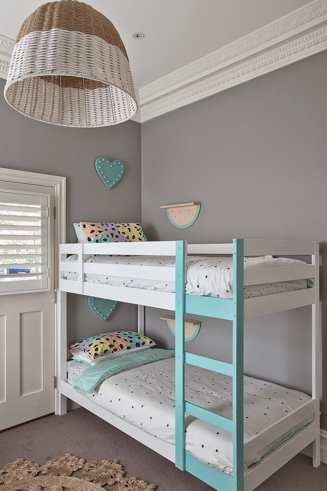 Snooze Bunk Beds Little Liberty Mint And Peach Party Snooze Pinterest Girl