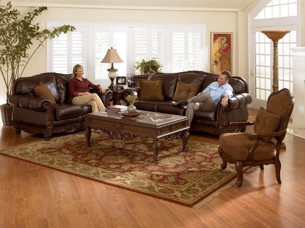 North Shore Collection North Shore Collection Overview All Leather Upholstery I Living Room