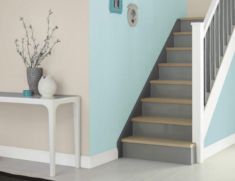 flur mit farbe gestalten gr n und beige haare und beauty pinterest wohnraumgestaltung. Black Bedroom Furniture Sets. Home Design Ideas