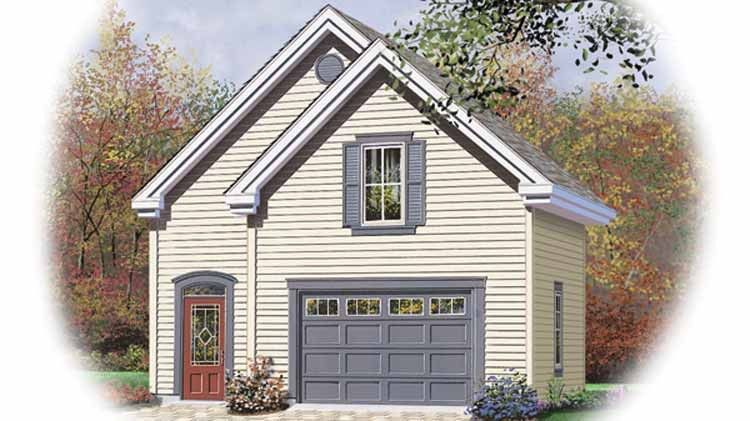 Eplans Garage Plan 644 Square Feet and 0 Bedrooms from