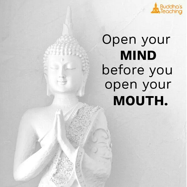 Open Your Mind Buddhism Quote Buddha Quote Buddhist Quotes