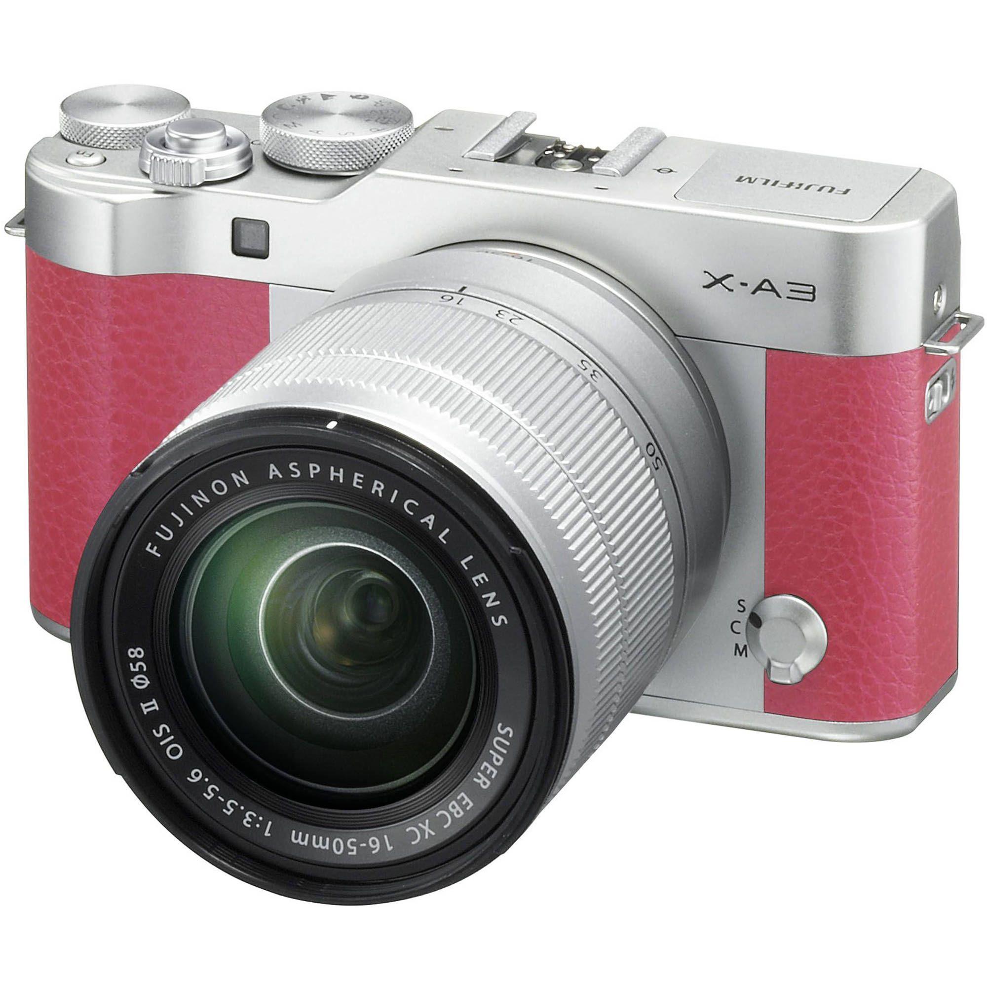 Fujifilm X A3 Mirrorless Digital Camera With 16 50mm Lens Pink X100s Iphone 5 Custom Hard Case