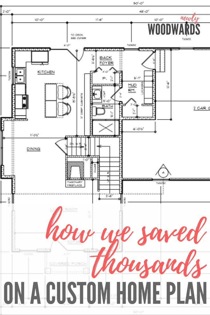 Hiring A Draftsman How We Saved Thousands On A Custom Home Plan Newlywoodwards Custom Home Plans Custom Homes House Plans