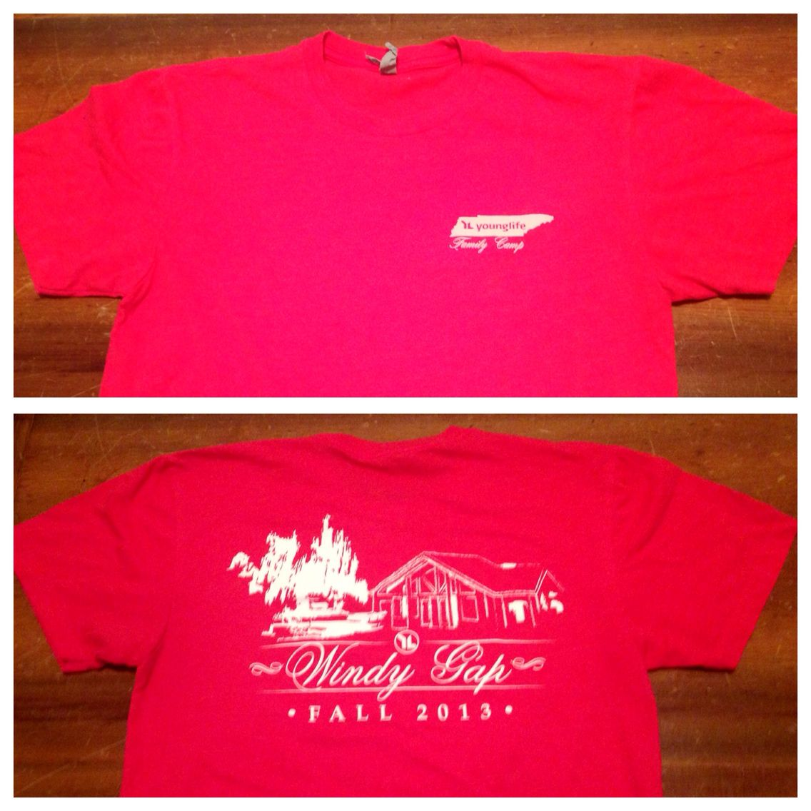 Young Life Family camp shirt for Windy Gap! I Enjoyed doing work