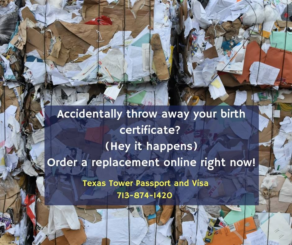 You Need A Certified Copy Of Your Birth Certificate For A Lot Of