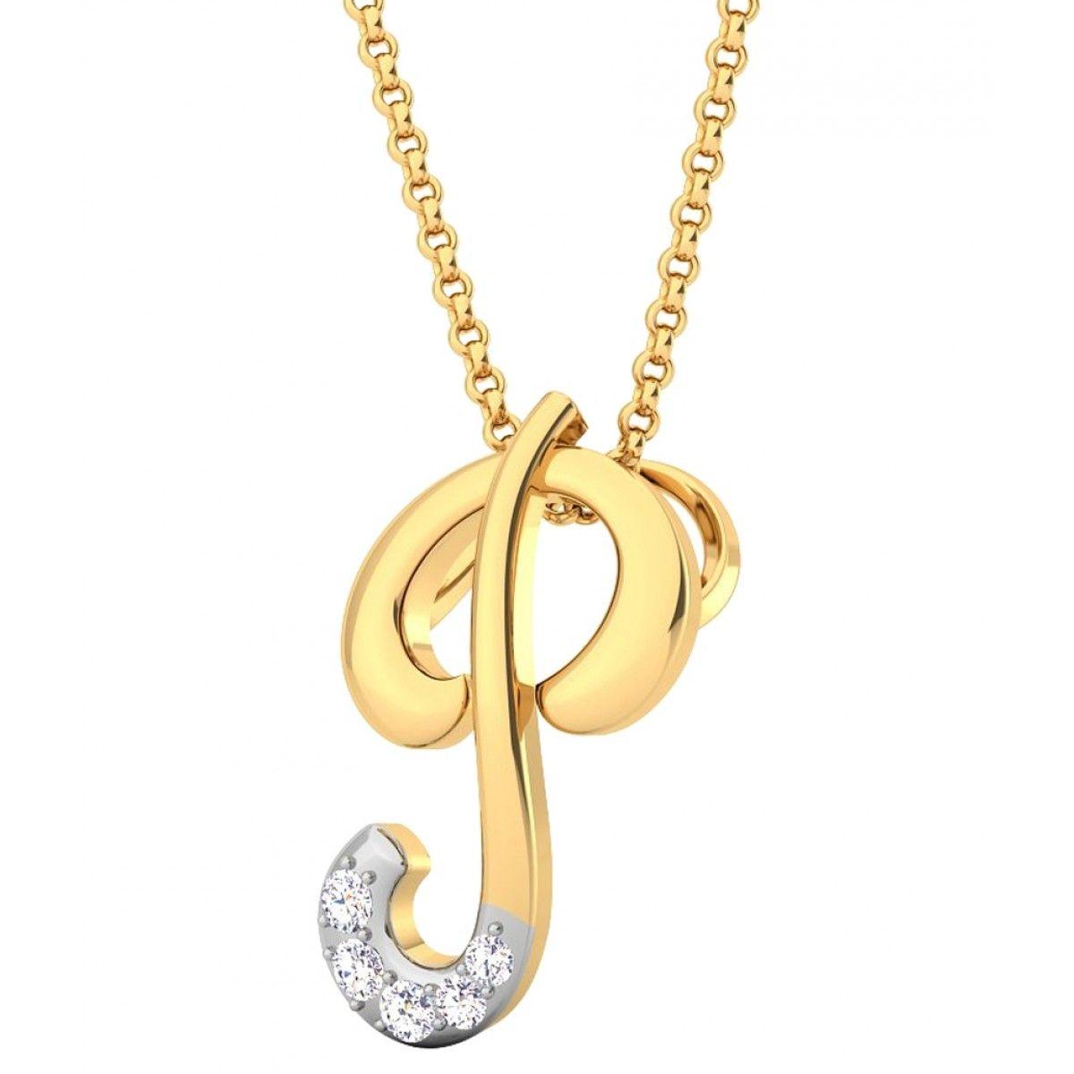 Kataria Jewellers Letter P 92.5 BIS Hallmarked Silver and Swarovski Alphabet … 89de65b3d2a54