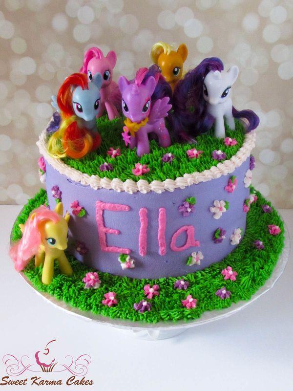 Excellent My Little Pony Cake Ideas Ponies Cake Twilight Sparkle Pinkie Personalised Birthday Cards Sponlily Jamesorg