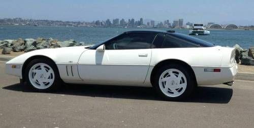 1988 35th Anniversary Corvette Corvette Chevrolet Chevrolet Corvette