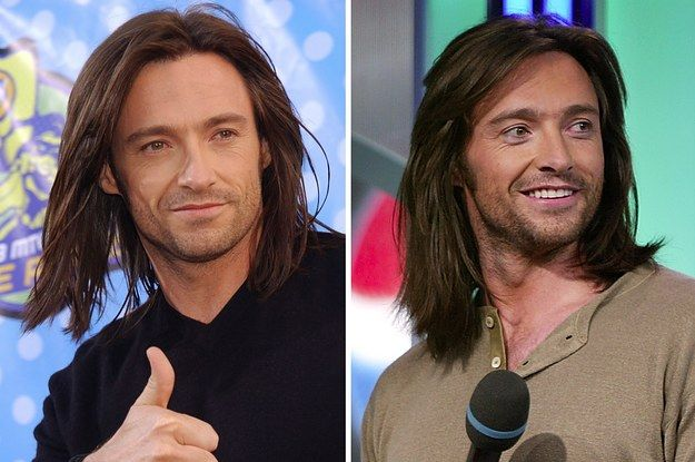 Hey Remember When Hugh Jackman Had Long Hair Long Hair Styles Men Long Hair Styles Mens Hairstyles
