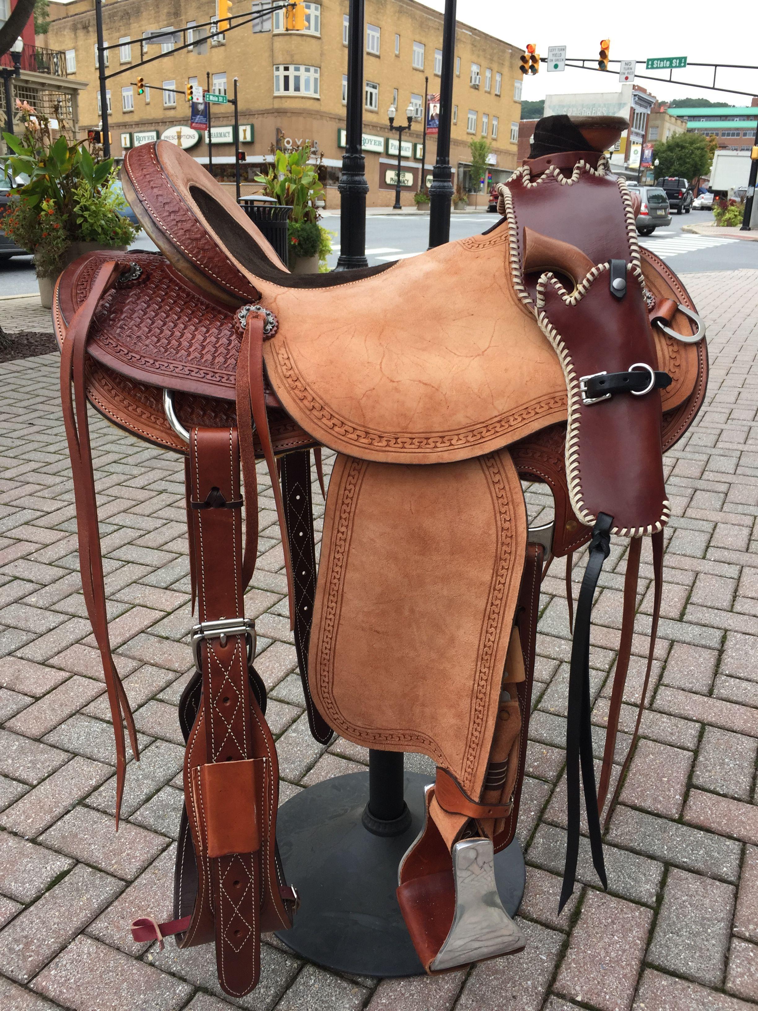Wade Saddle Horn Holster By Fx Saddle Company Wade Saddles Horse Show Clothes Saddles
