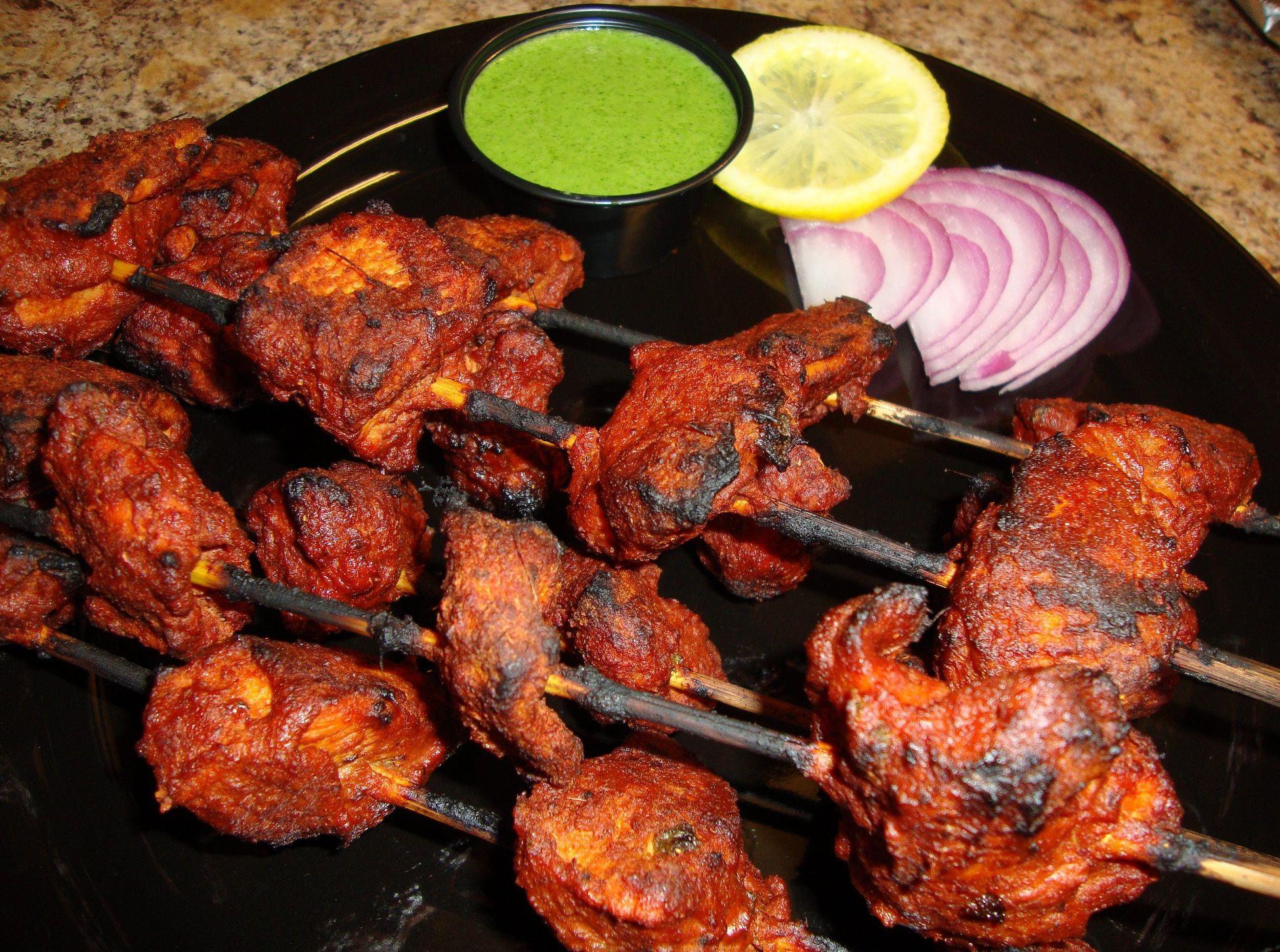 Tandoori Chicken Tikka #tandoorichicken