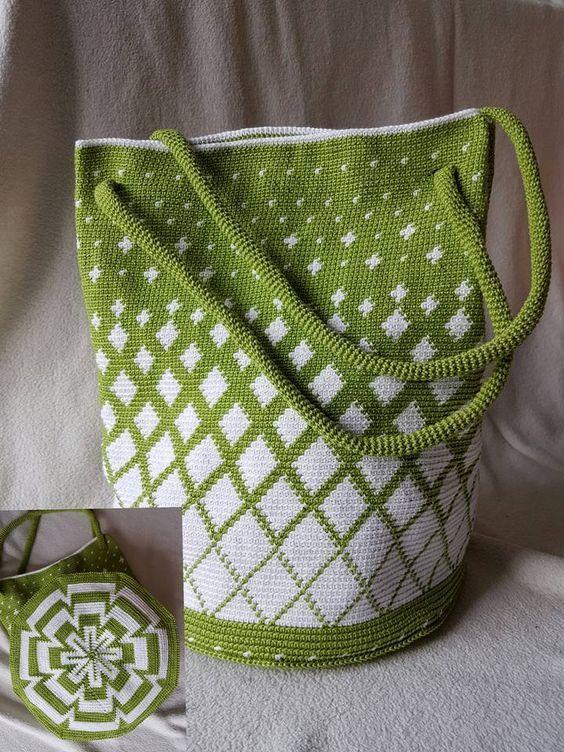 crochet bags | Сумки | Pinterest | Mochilas, Bolsos y Las bolsas de asas