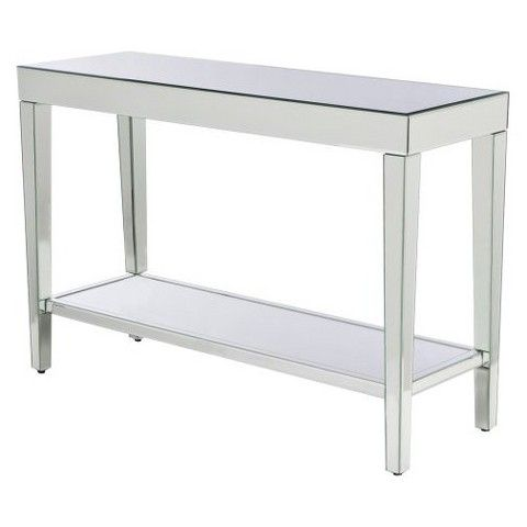 Beau 30 X 15 X 44 $152 Target Mirrored Console Table