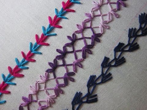 Hand Embroidery Designs Basic Embroidery Stitches Part 6
