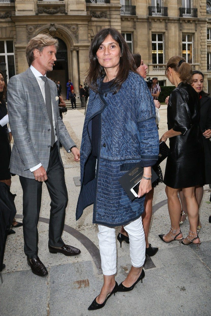 25 Times Emmanuelle Alt Killed it in a Pair ofJeans picture