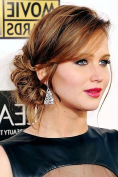 Image Result For Best Updo Hairstyles With A One Shoulder Dress