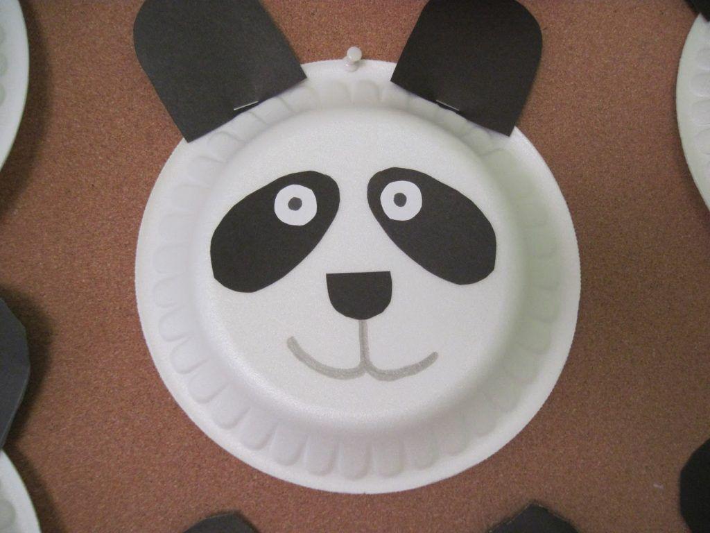 Panda Craft Idea For Kids