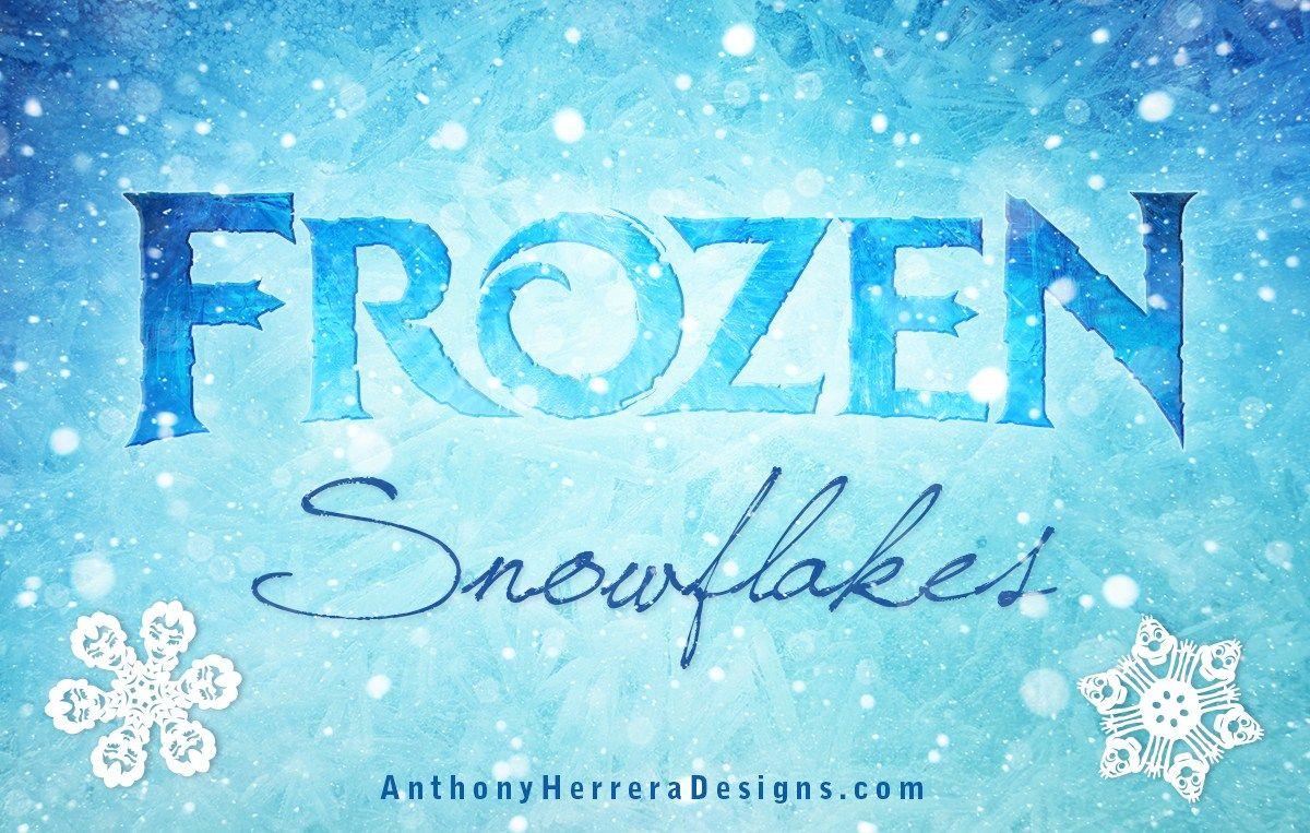 Free Printable Disney Frozen Snowflake Patterns By Anthony Herrera