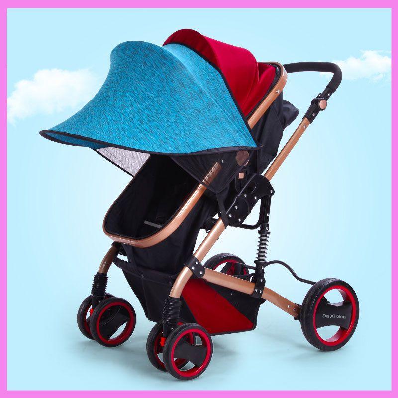 Kinderwagen Sonnenschirm Canopy Cover für Kinderwagen Kinderwagen AbdeckungDDE