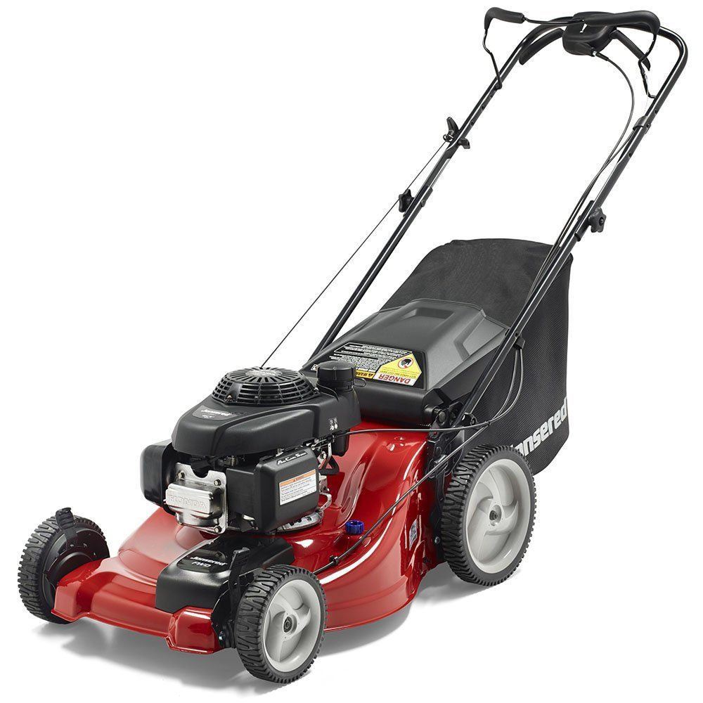 Best Riding Mowers 2021 Jonsered 21 in. 160cc Honda GCV Gas Walk Behind Lawnmower, L2821