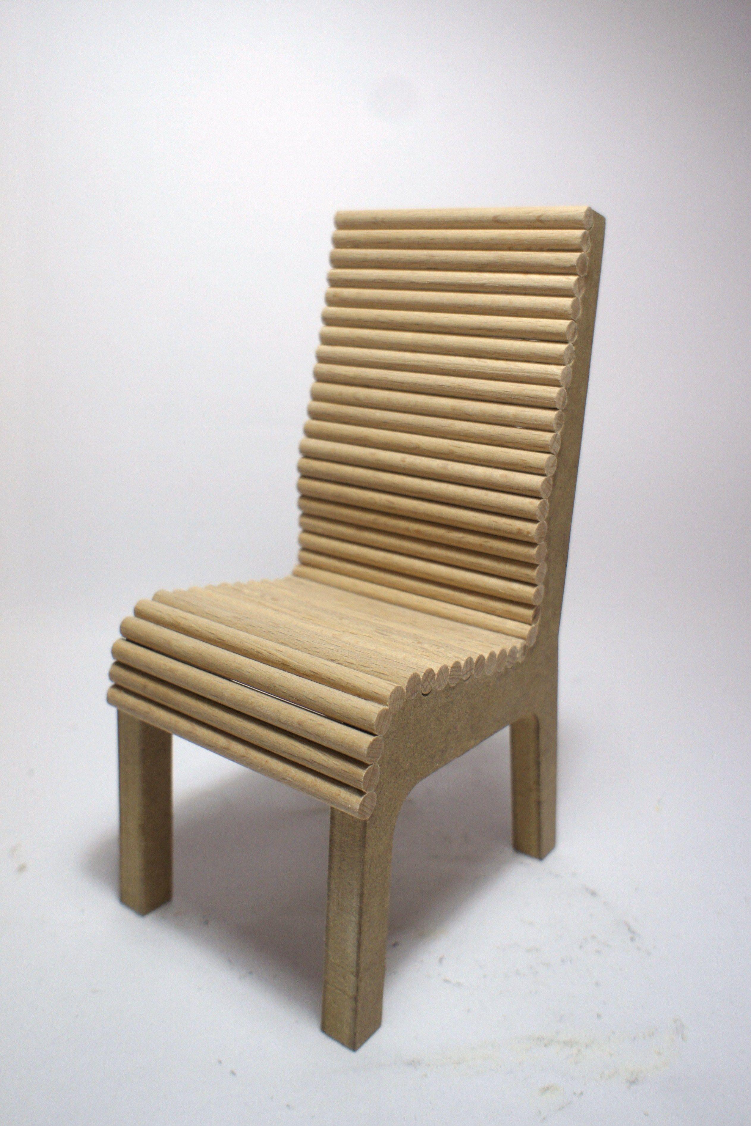 Maqueta silla ergonómica