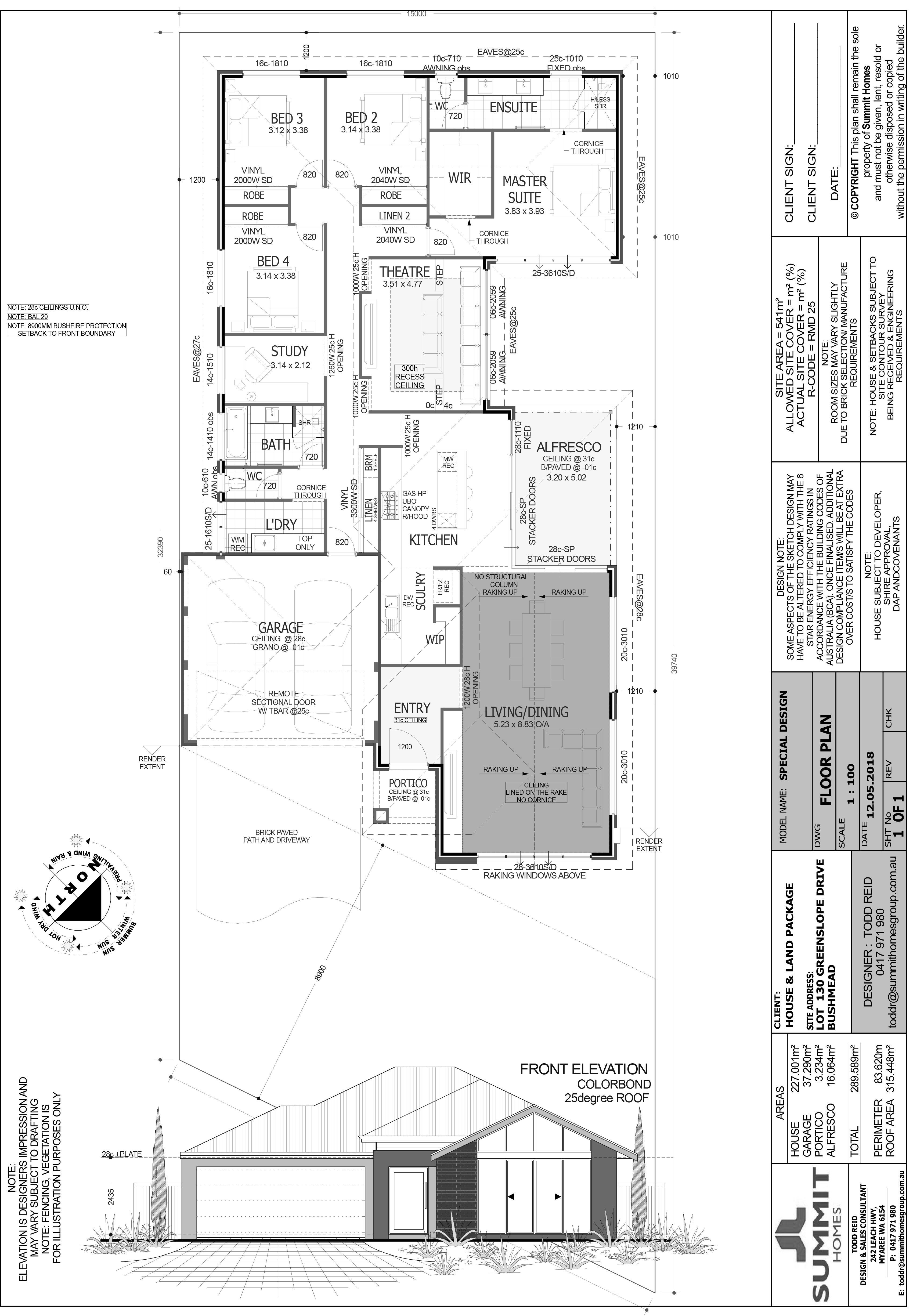 Floor Plan (Make Black And White)