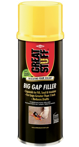 Big Gap Filler High Expansion Insulating Foam Sealant Great Stuff Try For Squeaky Floors Spray Foam Insulation Spray Foam Diy Spray Foam Insulation