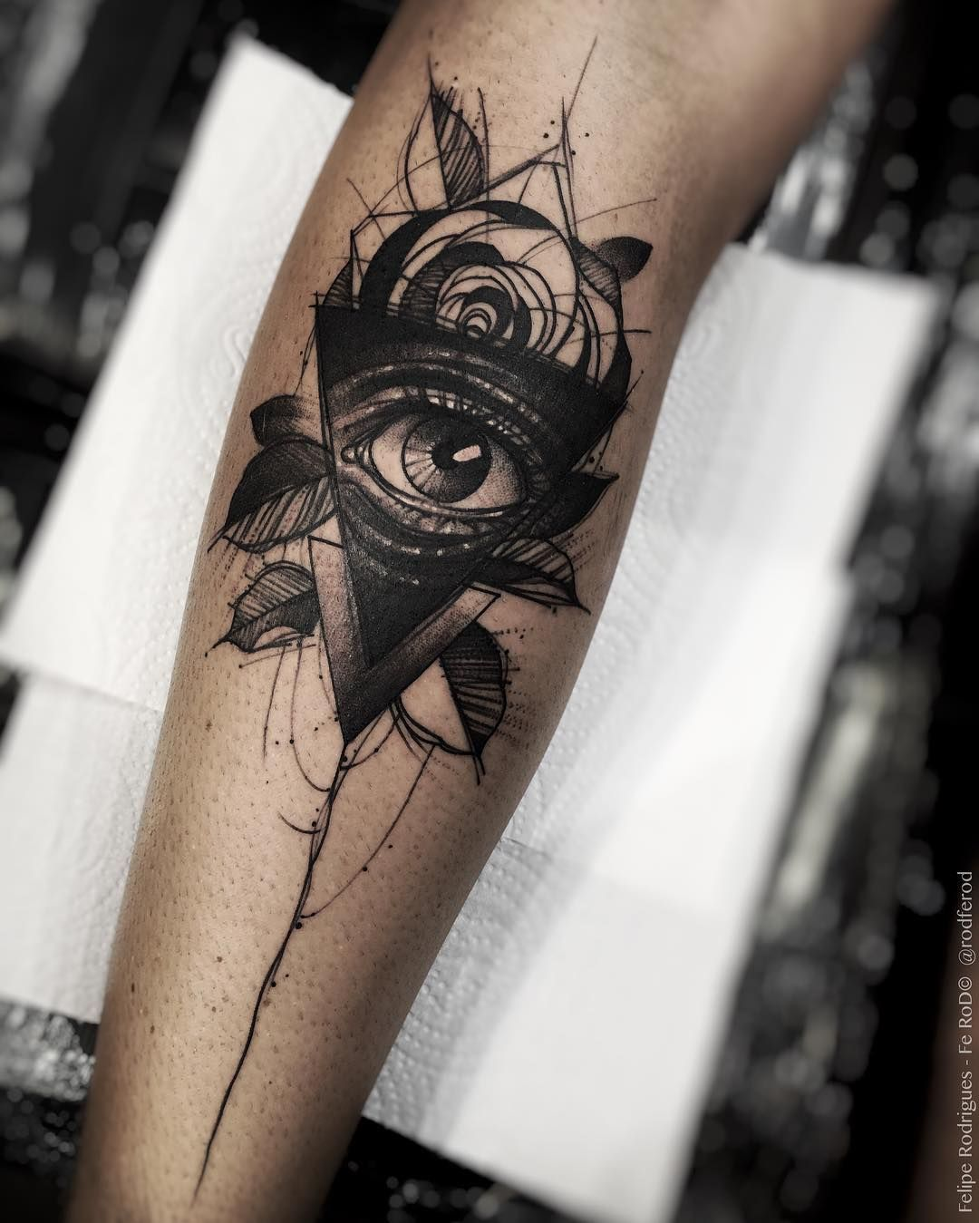 Tattoo By Felipe Rodrigues Tattoo You Brasil Tatuajes Tattoos