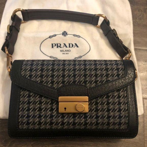 Photo of Prada handbag Shoulder bag This is very good condition  No stain no flaws and no…