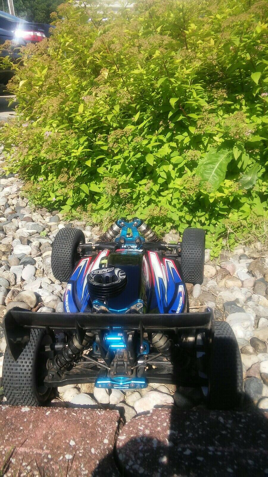 RTR TEAM ASSOCIATED RC8 NITRO GAS BUGGY 4x4 4WD OS MAX