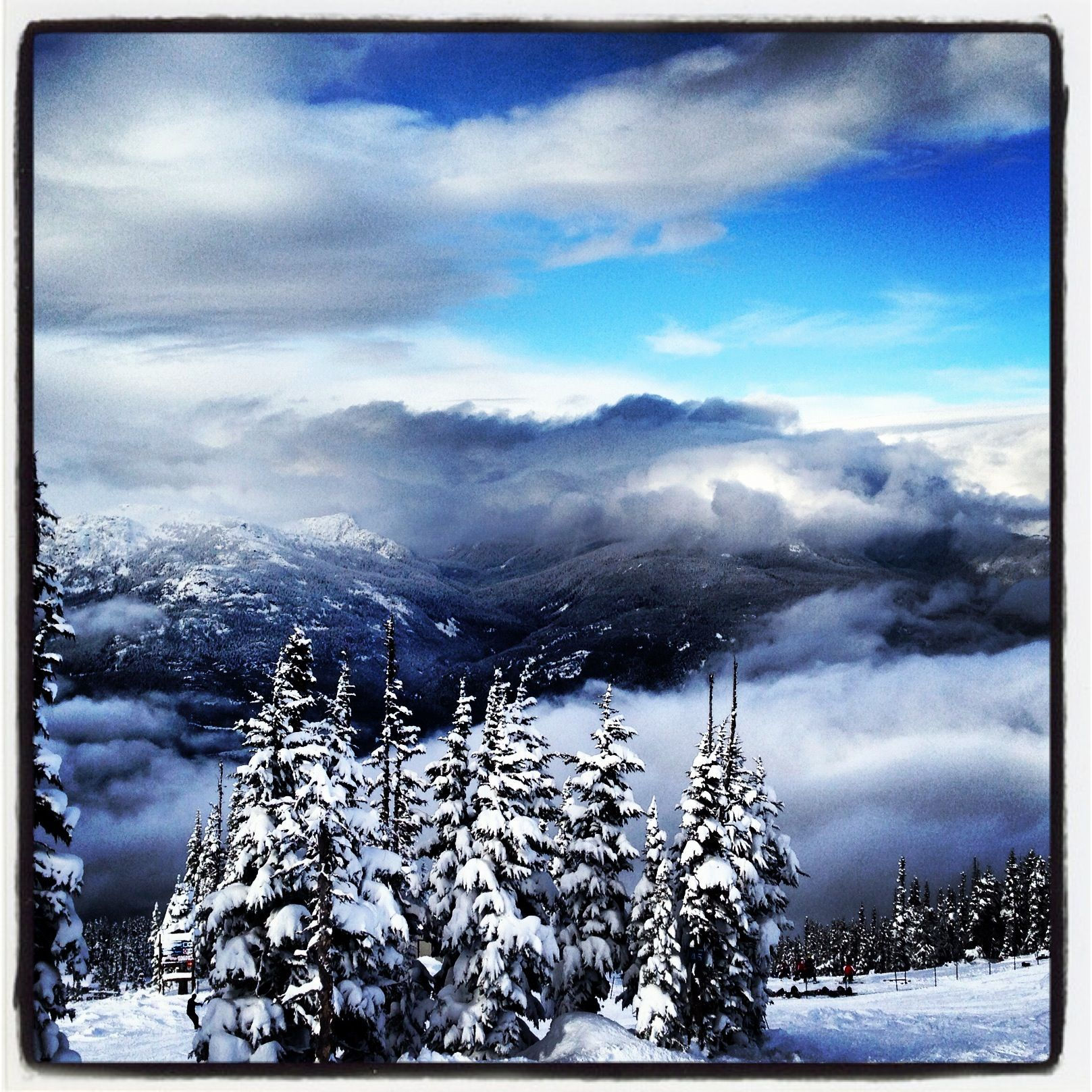 Whistler on a Sunny Day #whistler #mountain #picoftheday
