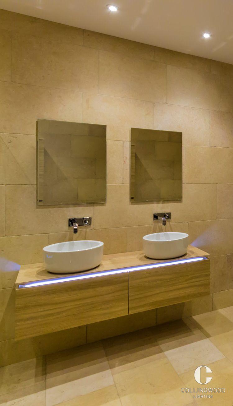 Bathroom lighting | Interior design inspiration | Created using the ...