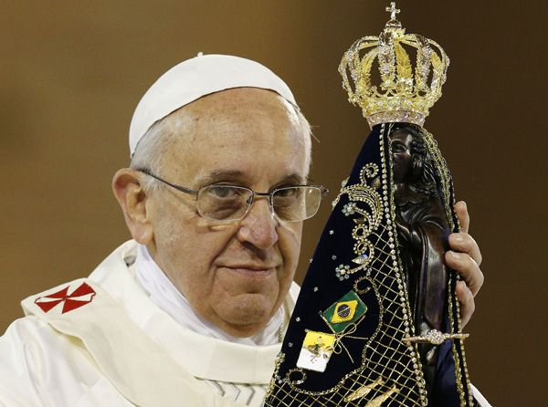Church Of The Black Madonna Pope Francis And The Black Madonna Pope Francis Catholic Church