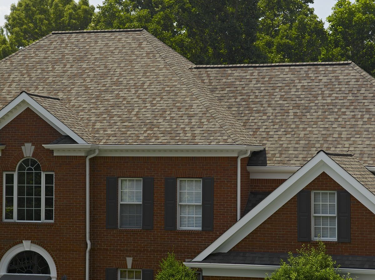 Landmark Designer Shingle In Weathered Wood #CertainTeed #roofing