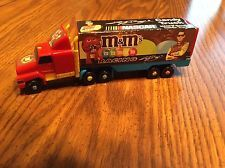 "NASCAR M&M's CANDY TRUCK Racing Transport Truck #18 Kyle Busch  6"" Long"