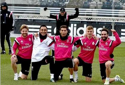 HALA MADRID Real madrid training, Cristiano ronaldo