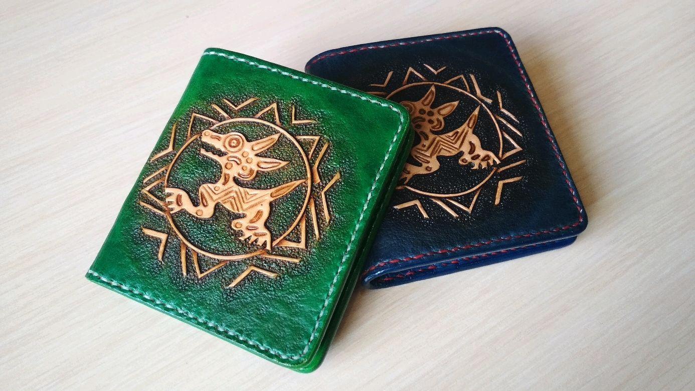 aefe24cab307 Кошельки и визитницы ручной работы. Кожаный картхолдер, кошелек, визитница,  монограмма, именной